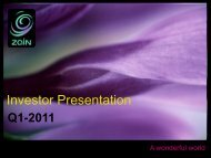 Investor Presentation - Zain