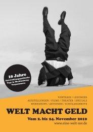 Programm2010 der diesjährigen EP-Tage gibt es hier. - webMoritz