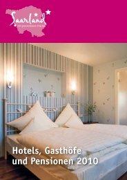 2973-9 Hotels.qxp - Tourismus Zentrale Saarland