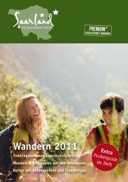 Wandern 2011 - Tourismus Zentrale Saarland