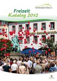 KATALOG - Tourismusregion Zwickau eV ~Zwischen Muldental und ...