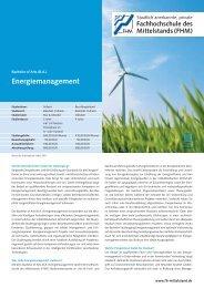 Energiemanagement - Rhein-Erft Akademie