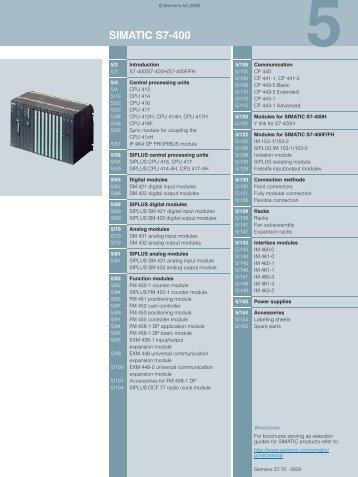 simatic s7-400 - Teknika Otomasyon