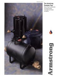 The Armstrong Pumping Trap - Armstrong International, Inc.