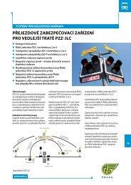 přejezdové zabezpečovací zařízení pro vedlejší tratě pzz-jlc