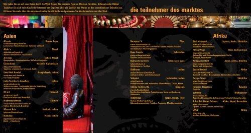 nationaler markt der völker museum für völkerkunde ... - oriento.de