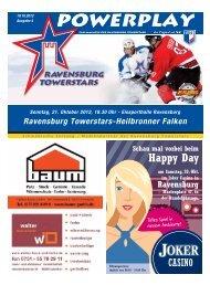 Ravensburg Towerstars-Heilbronner Falken