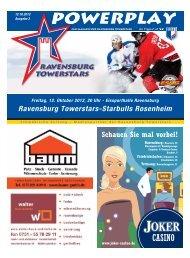 Ravensburg Towerstars-Starbulls Rosenheim