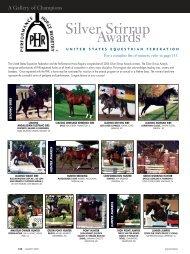 03-07 PHRSilverStirrup.qxd - United States Equestrian Federation