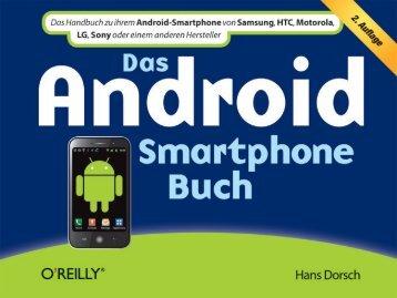 Das Smartphone mit Apps von Google Play - beim O'Reilly Verlag