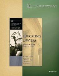 Educating Lawyers (Summary) - Albany Law School