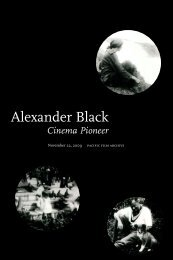 """""""Alexander Black: Cinema Pioneer"""" (PDF). - Berkeley Art Museum ..."""