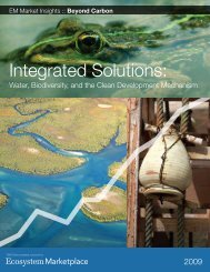 Integrated Solutions: - Ecosystem Marketplace