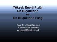 Yüksek Enerji Fiziği: En Büyüklerin ve En Küçüklerin Fiziği