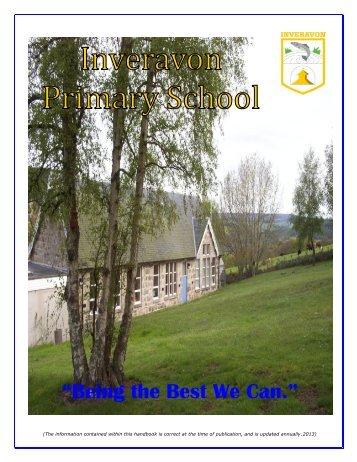School Handbook - The Moray Council