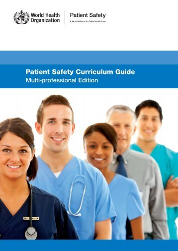 Patient Safety Curriculum Guide - libdoc.who.int - World Health ...