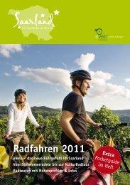 Radfahren 2011 - Tourismus Zentrale Saarland