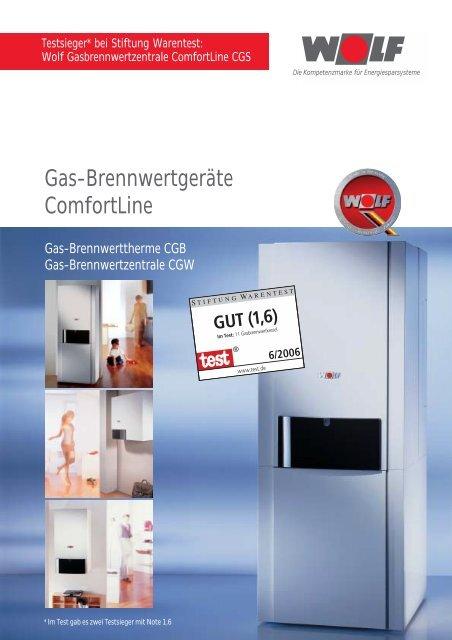 Gastherme,CGB35 E inkl.Anschlüsse Regelung Wolf Heizung  Gasbrennwerttherme