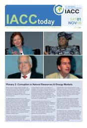 Corruption in Natural Resources & Energy Markets - 13th ...