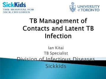 Division of Infectious Diseases Sickkids