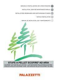 STUFE A PELLET ECOFIRE® AD ARIA