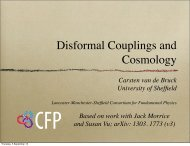 Disformal Couplings and Cosmology