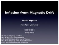 Inflation from Magnetic Drift