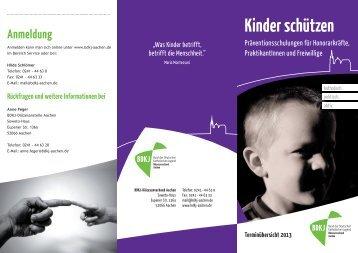 BDKJ Schulungstermine - Kolpingjugend DV Aachen