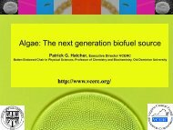 Algae: The next generation biofuel source - FLC Mid-Atlantic Region