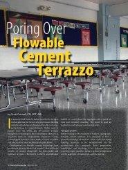 Poring Over Flowable Cement Terrazzo - International Masonry ...