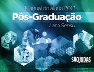 Manual de Pós-Graduação Lato Sensu - Universidade São Judas ...