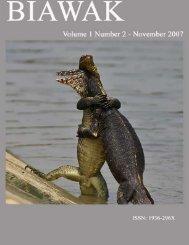 Vol. 1 No. 2 - International Varanid Interest Group