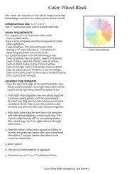 Color Wheel Block - Riley Blake Designs
