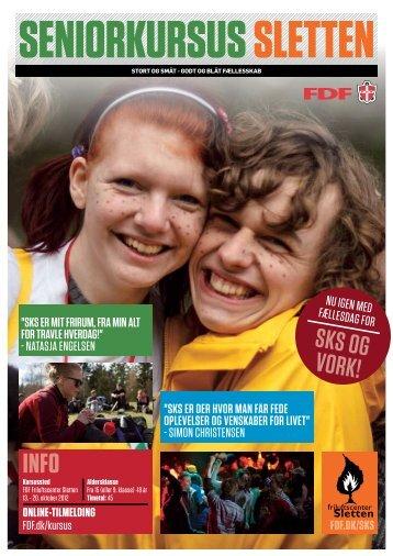 Seniorkursus Sletten efterår 2012 - Leder - FDF