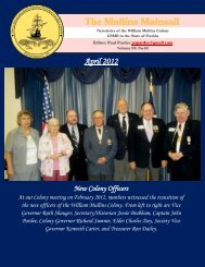 Mullins Mainsail - Vol. 9, No. 2 - Apr 2012 - Florida Society of ...