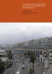 la réhabilitation urbaine dans le cadre de la coopération au ...