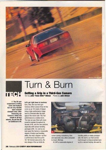 Chevy High Performance - February 2004 - Vintage Wheel Works