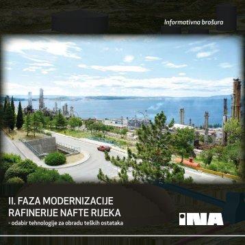 II. FAZA MODERNIZACIJE RAFINERIJE NAFTE RIJEKA /pdf - Ina