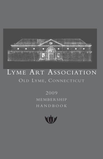 Membership Handbook - Lyme Art Association