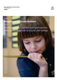 Progettare la scuola insieme Informazioni per i genitori sull ...