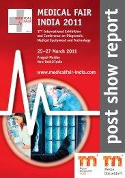 MEDICAL FAIR INDIA 2011