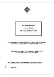 AGENDA APPENDIX Wednesday 24 April 2013 - South Gippsland ...