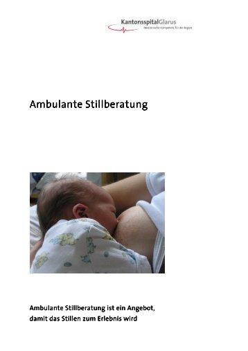 Ambulante Stillberatung - Kantonsspital Glarus