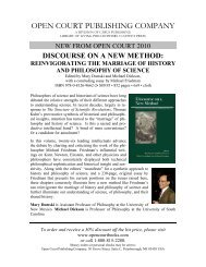 open court publishing company - Stanford University Department of ...