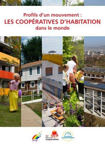 Les coopératives d'habitation dans le monde