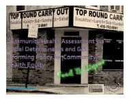 Ryan J. Petteway, MPH - the Baltimore Neighborhood Indicators ...