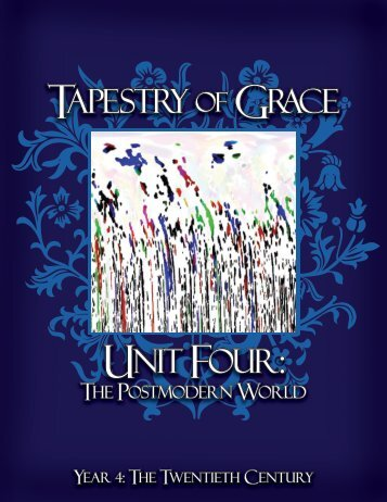 Cover and Spine - Tapestry of Grace