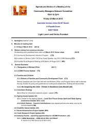 Agenda and Papers 23 March 2012 - LGMA (SA)