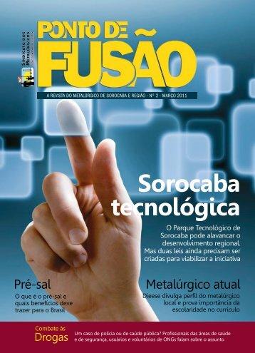 Ponto de Fusão - Sindicato dos Metalúrgicos de Sorocaba e Região