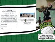 Volleyball Camp - West Lutheran High School